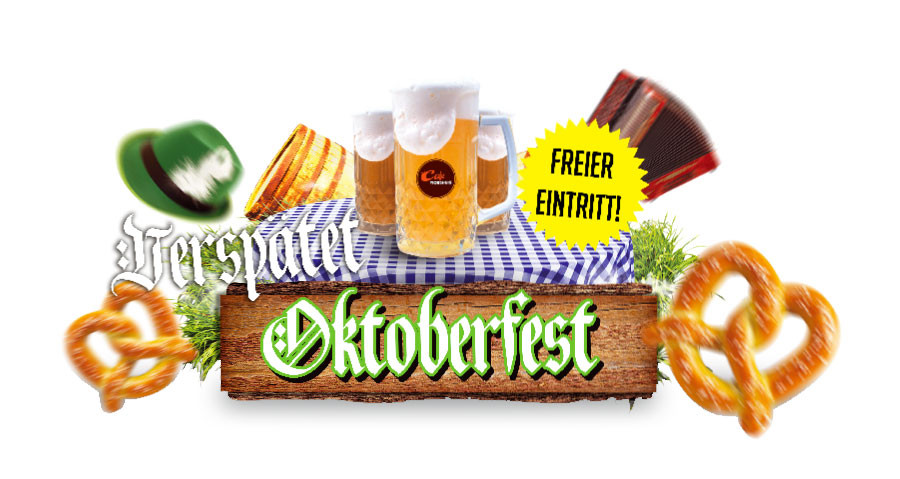 Verspätet Oktoberfest! 1 – 2 – 3 november