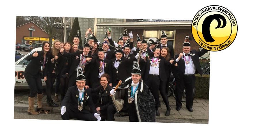 Prinsopkomst J.C.V. De Bokk'n Hornkes 24 november 2017