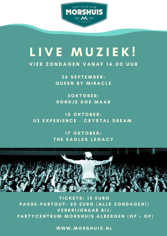 Live muziek @ morshuis